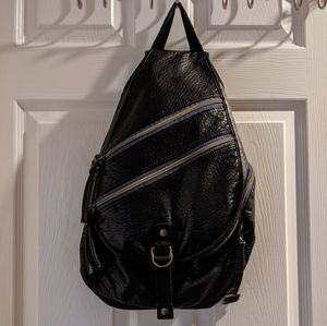 3/$25 🎉 Mossimo Black Faux Leather Backpack